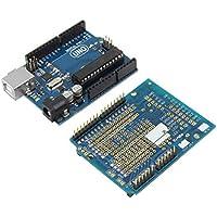 Newgreenca UNO R3 Starter Kit 1602 LCD Servo Motor Dot-Matrix Tagliere per Arduino