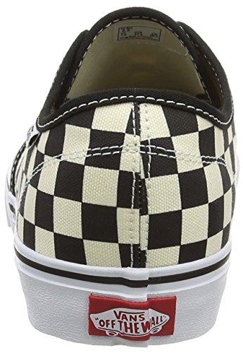 Vans Camden Deluxe - Scarpe Da Ginnastica Basse Uomo Nero washed black gum 38 5 Eu Multicolore checkers black natural