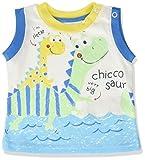 Chicco 09006207000000, Camiseta de Tirantes para Bebés, (Bianco 033), 68 cm