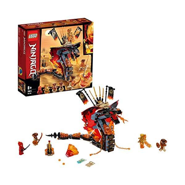 LEGO Zanna Di Fuoco Costruzioni Piccole 2 spesavip
