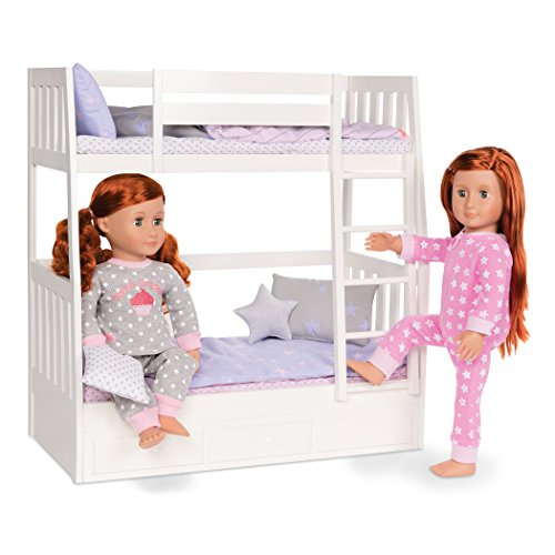 """Our Generation 70.37357 """"Dream Bunks"""" Doll"""