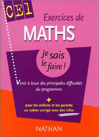 Exercices de Math CE1 : Venir à bout des principales difficultés du programme (+ corrigé)