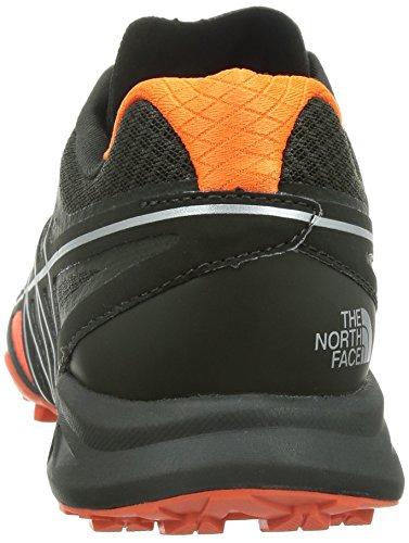 The North Face Herren M Ultra Mt Laufschuhe Orange and Black