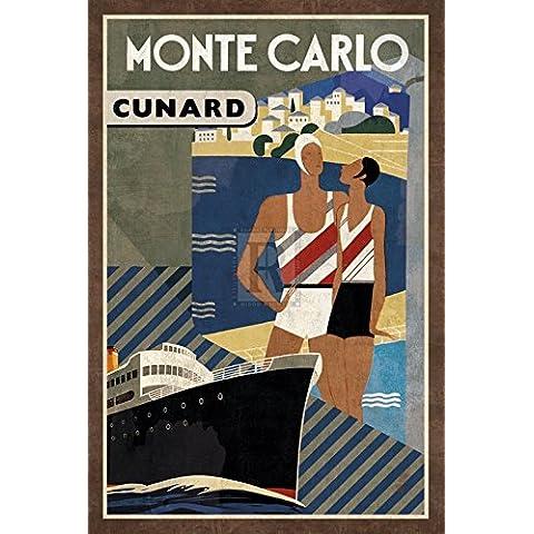 Collection Caprice – Cruise Monte Carlo Artistica di Stampa (40,64 x 60,96 cm)