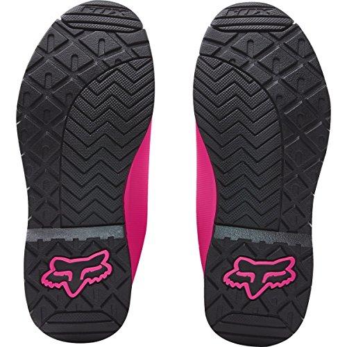 FOX 2016 Motocross/ Enduro Stiefel COMP 5 Frauen – schwarz-pink: Größe Stiefel: 40 EU / 8 US - 5