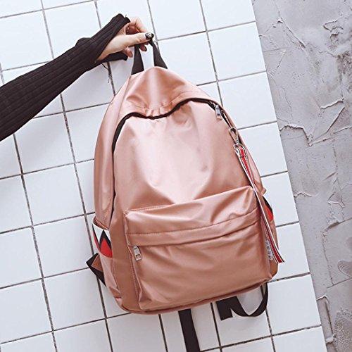Longra Unisex Solid Color Nylon impermeabilizza la banda impermeabile Hanging Backpack Satchels Rosa Pagar Con Paypal En Línea Barata Venta Pedido En Línea Toma De Salida De Fábrica Se Ocupa De Venta En Línea Ofertas En Línea Barato OcB6a