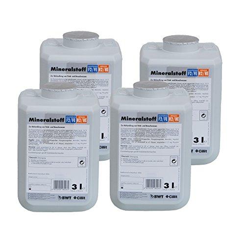 Preisvergleich Produktbild BWT Mineralstoff Cillit -Quantophos/Impulsan 4 x 3 l Kanister FE/HE