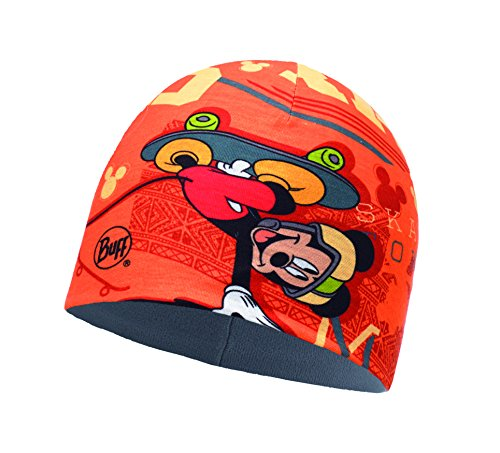 Buff Kinder Microfiber und Polar Hat Mütze, Skate King Orange, One Size