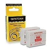2x Batterie LP-E5 pour Canon EOS 1000D | EOS 450D | EOS 500D | EOS Rebel T1i | EOS...