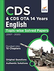 CDS & CDS OTA 14 Years English Topic wise Solved Papers (2007-2
