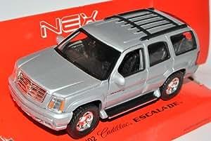 Welly Cadillac Escalade Silber Suv GMT800 2. Generation 2001-2006 ca 1/43 1/36-1/46 Modell Auto mit individiuellem Wunschkennzeichen