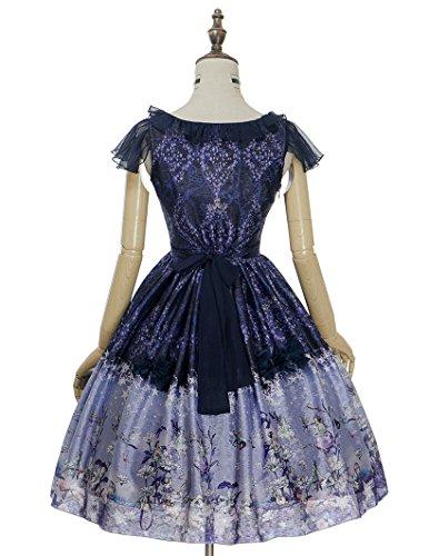 Fanplusfriend - Robe - Pull - Femme Small Purple + Dark Blue