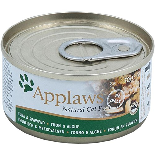 Applaws Dose Thunfischfilets und Meeresalgen, 24er Pack (24 x 70 g)