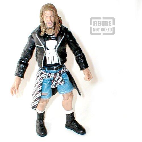 WWF WWE TNA Wrestling 15,2cm Raven Figur Rare [nicht verpackt]