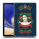 Head Case Designs Offizielle Frida Kahlo Viva La Vida Ikone Soft Gel Hülle für Samsung Galaxy Tab S4 10.5 (2018)