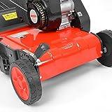 HECHT 5654 Rasen-Lüfter Motorvertikutierer (3,5 PS, 38 cm Arbeitsbreite, 6-fache zentrale Höhenverstellung, 40 Liter Fangkorb) - 6