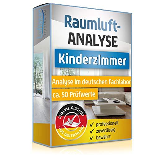 Raumluft Test fürs Kinderzimmer - Luftanalyse auf 50 Schadstoffe - professionelle Analyse im deutschen Fachlabor