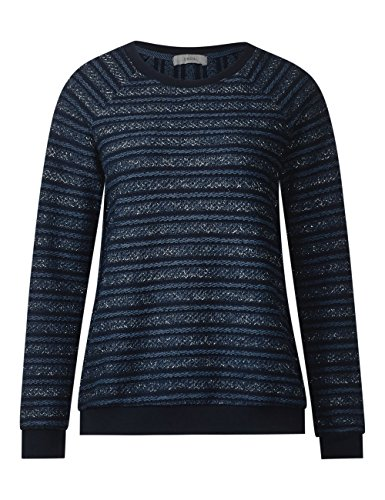 Cecil Damen Sweatshirt Blau (Deep Blue 30128)