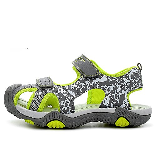 Sandales pour enfants Chaussure de sport en plein air Summer Beach Pool Sneakers Vert