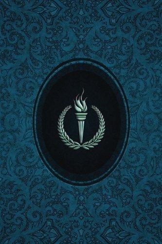 Monogram Olympics Journal: Blank Notebook Diary Log: Volume 62 (Monogram Cerulean 365 Lined)