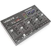 Skytec 172985 - Mezclador de 6 canales con efectos sd/usb/mp3/bt