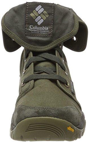 Scarpe Grigio Camden Columbia nori Verde Uomo Da Trekking Alto 5q7UZqW