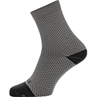 GORE WEAR Gore Running Wear C3 Dot Chaussettes Mixte Adulte, Jaune Fluo/Noir, FR : 3XL (Taille Fabricant : 44-46)