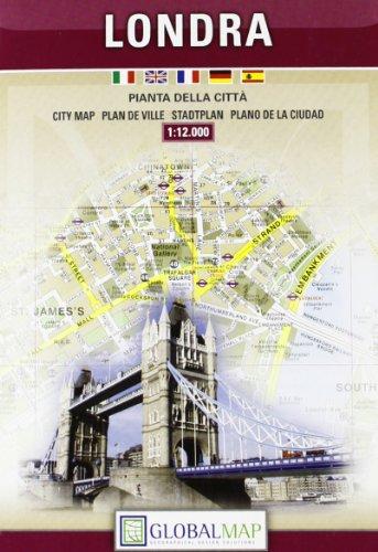 Londra 1:12.000 (Carte stradali)