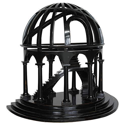 Authentic Models - Demi Dome - Dekorationsobjekt - Architekturmodell - handgefertigt - Kirschenholz - Birkenholz - 46 x 25 x 41 cm