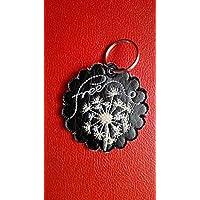 Schlüsselanhänger, Taschenbaumler, Kunstleder, Pusteblume, Free