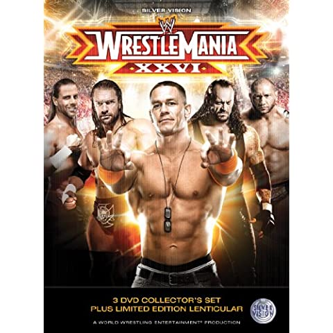 WWE - Wrestlemania 26 Deluxe Version with Lenticular