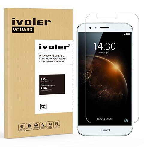 iVoler Pellicola Vetro Temperato per Huawei Ascend G8 [Garanzia a Vita], Pellicola Protettiva, Protezione per Schermo