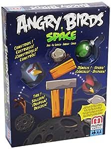Mattel - X6913 - Jeu de Plateau - Angry Birds Space