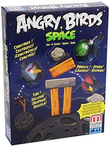 Mattel X6913 Angry Birds in Space - Juego de los Angry Birds (importado)