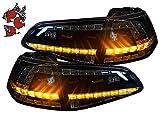 LED Rückleuchten Heckleuchten schwarz 13-16 Depo RV50DLBS Rücklichter