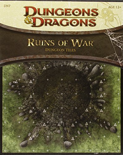 Ruins of War - Dungeon Tiles: A Dungeons & Dragons Accessory by Wizards RPG Team (2012-11-20) par Wizards RPG Team;