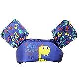 Schwimmweste für Kinder, Schwimm-Trainingsjacke, Armbänder für Kinder von 9-50 kg, für Mädchen und Jungen 20.0 cm * 30.0 cm * 7.0 cm Dinosaurier
