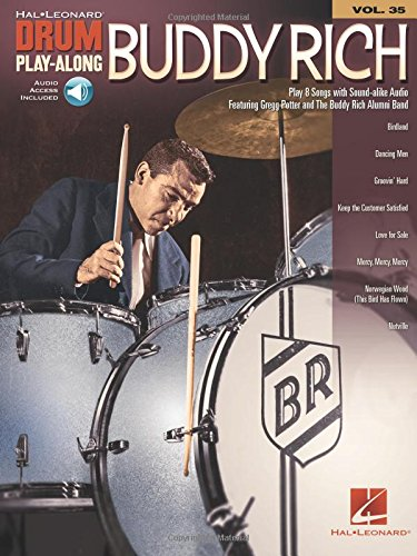 Drum Play-Along Volume 35: Buddy Rich (Book/Online Audio) (Hal-Leonard Drum Play-Along)