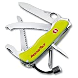 Victorinox RescueTool One Hand–Messer (170g, 12.2cm, 34,5mm, 21mm, Yellow, Stainless Steel)