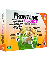 Frontline Tri-Act 5-10 kg 6 Pipetas