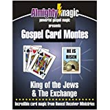 Trickmaster Almighty Magic Gospel Card Montes- TWO Tricks In One! -- Powerful Gospel Magic!