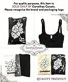 Camellias Femme Bustiers Ajustable Minceur Efficace Lingerie Sculptante Amincissant Shapewear Fermeture éclair,UK-SZ70950-Black-3XL - 6