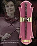 Noble Collection NN7607 - Harry Potter: Bacchetta Magica di Dolores Umbridge con Espositore