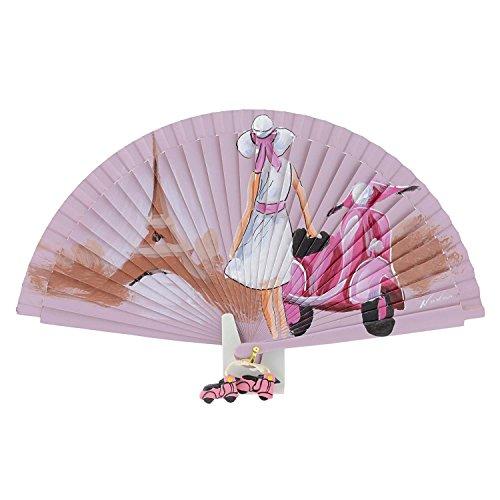 Fan Roller in Paris Pink