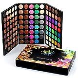 Eyeshadow Palette Matte Shimmer 120 colori pallete dell'ombra di occhioImpermeabile polvere naturale pigmentato set cosmetico professionale