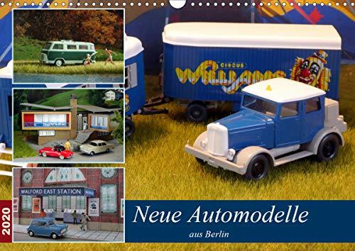 Neue Automodelle aus Berlin (Wandkalender 2020 DIN A3 quer): Modellautos auf Dioramen (Monatskalender, 14 Seiten ) (CALVENDO Hobbys)