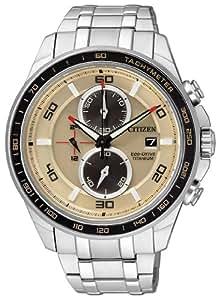 Citizen Herren-Armbanduhr XL Super Titanium Analog Quarz Titan Ca0348-53W