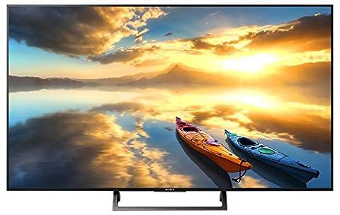 Sony KD-43XE7005 Bravia 108 cm (43 Zoll) Fernseher (4K Ultra HD, High Dynamic Range, Triple Tuner,