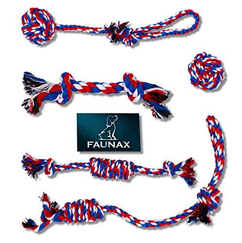 FaunaX - Premium Hundespielzeug-Set, waschbar und robust für verspielte welpen und kleine Hunde. Fördert die Zahnhygiene nachhaltig und stärkt die Bindung zwischen Hund und Halter langfristig