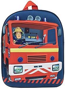Fireman Sam 3D EVA mochila Un producto totalmente marca y aprobado por Fireman Sam. Esta impresionante mochila es un diseño exclusivo. Perfecto para guardar todos tus pequeños juguetes y aperitivos. Cada mochila tiene muchos pequeños detalles como co...
